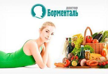 Tabla productos Bormental calorías. contenido calórico de las comidas listas para Bormental