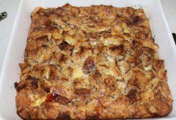 pouding au pain: la recette. Comment faire cuire le régime pudding