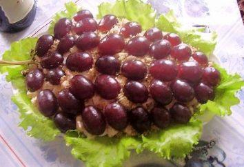 """""""Kiść winogron"""" – sałatki na stole noworocznym"""