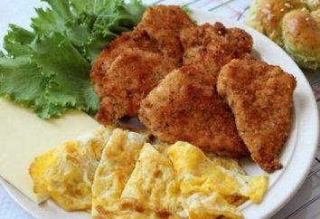 Delizioso pollo, impanati, o Come fare un sostanzioso piatto principale