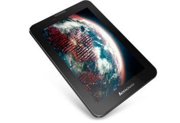 Tablet IdeaTab Lenovo A3000 1: Übersicht, Spezifikationen und Bewertungen