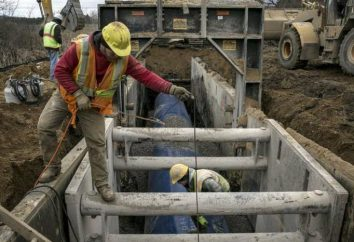 instalações de captação de água de fontes subterrâneas