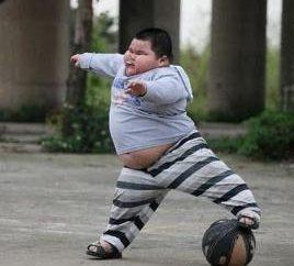 bambino più grasso del mondo: dolce o terribile?