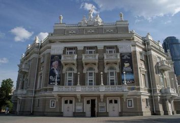 Jekaterynburg Opery i Baletu Repertuar trupa