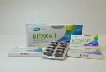Vitamines et minéraux complexes « Vitakap »: mode d'emploi, composition, prix, avis