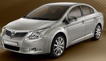 """""""Toyota Avensis"""" vagão de geração 3"""