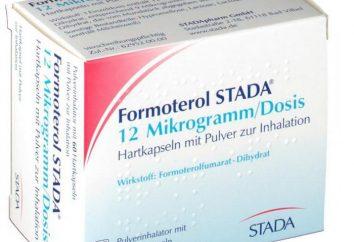 """""""Formoterol"""": Gebrauchsanweisung, Analoga, Retardform, Bewertungen"""