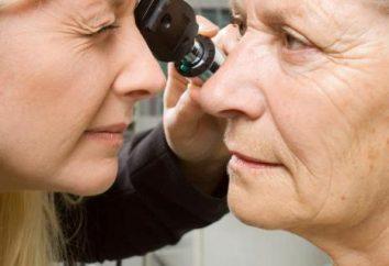 Leczenie jaskry u osób starszych: metody, opinie