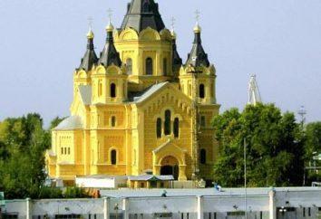 Nizhny Novgorod, Aleksandra catedral Nevskogo. Nizhny Novgorod: atracciones, fotos