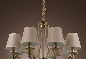 Il lampadario in stile del paese per interni casa
