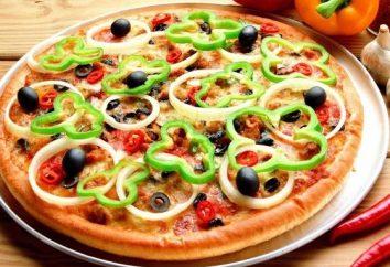 Różnorodność dodatków do pizzy