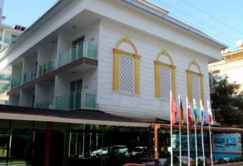 Kleopatra Atlas Hotel 4 * (Turquía, Alanya): descripción de habitaciones, servicios, opiniones
