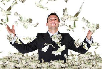 Como se tornar um homem rico? As pessoas ricas do mundo