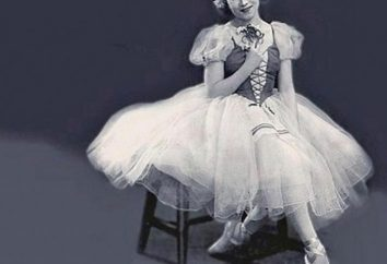 A bailarina Soviética mais famoso. Quem é ela?