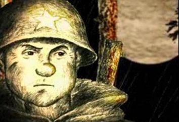 "Un breve racconto di ""Basil Terkin"" Aleksandra Tvardovskogo"