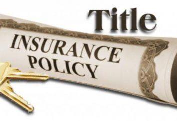 Titelversicherung beim Kauf einer Wohnung: Eintragung der Police, Bedingungen