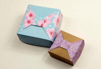 Jak zrobić pudełko pudełko z pokrywką: klasa mistrz w krokach