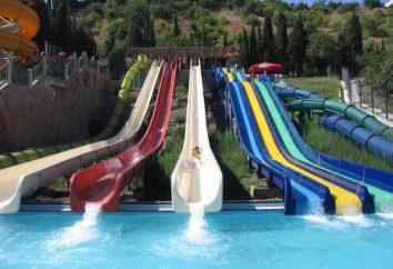 """Aquapark """"Almond Grove"""" – il miglior centro di divertimenti acqua in Crimea"""