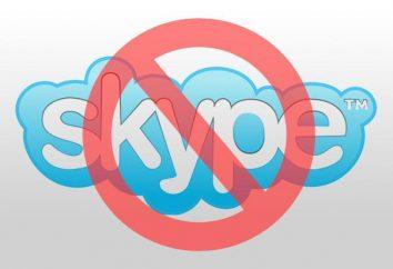 """""""Nie mogę iść do"""" Skype"""". Możliwe przyczyny i rozwiązania"""