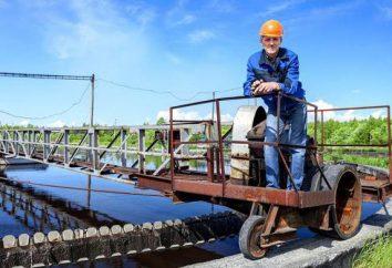 Aparelho de tratamento de água química: descrição do trabalho, especialmente treinamento e feedback