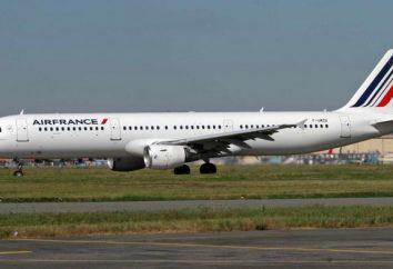 L'avion Airbus-321: Un bref historique et vue d'ensemble
