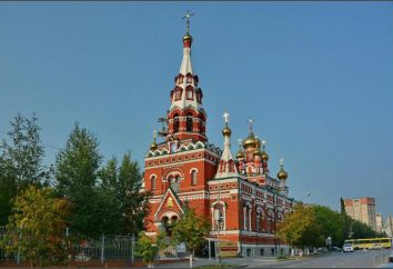 Himmelfahrt-Kirche Feodosievskaya (Perm): Beschreibung und Geschichte