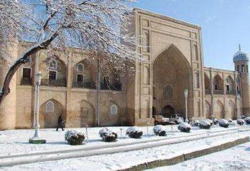 Klimat Uzbekistanu: opis pogody przez miesiąc