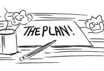 Como escrever o texto do plano: o super-berço para russo