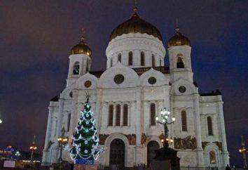 Árvore de Natal na Catedral de Cristo Salvador: comentários, fotos