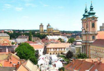 A cidade de Eger (Hungria) – a cidade mais confortável e bonito no país