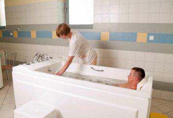 Ducha de masaje bajo el agua: indicaciones y contraindicaciones. efecto del procedimiento