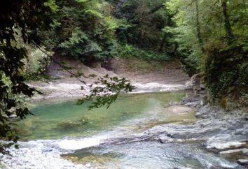 Rio Dagomys no norte do Cáucaso: descrição, turismo aquático, pesca