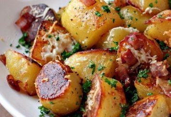 Comment faire cuire des quartiers de pommes de terre dans multivarka?