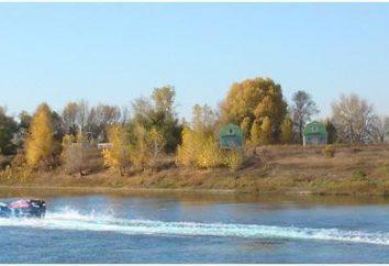 """Baza rybacki """"Sandy Beach"""" (Kharabali, region Astrachań). połowy rekreacyjne"""