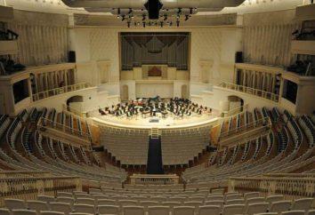 Tchaikovsky Concert Hall: história, concertos, pessoal