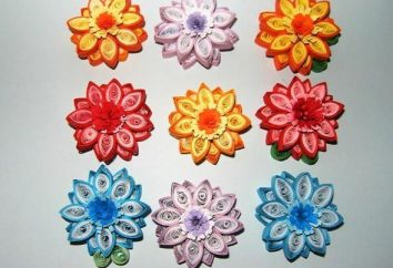 """La belleza y la elegancia de la """"quilling"""" arte. Flores, patrones, monogramas decorar cualquier interior"""