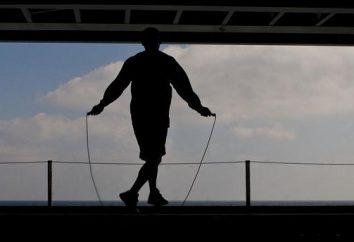 Skakanka: jakie mięśnie pracują najbardziej? Które mięśnie są kołysanie podczas skakanka