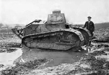 Il ressemblait à un réservoir de la Première Guerre mondiale?