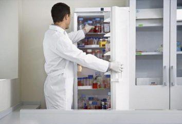 """Farmaceutyczny lodówka """"Pozis"""": instrukcje, informacje zwrotne, producent"""
