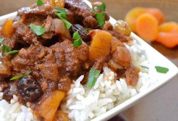 Riz à la viande en sauce: recettes