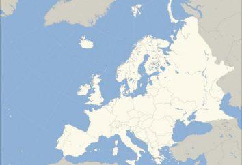 Unidos de Europa. ¿Cuál es el área de los países europeos?