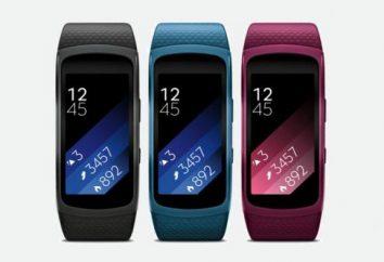"""Academia Bracelet """"Samsung"""": características do modelo. pulseira de fitness com monitor de freqüência cardíaca"""
