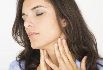 """medio eficaz para el tratamiento de la garganta. Instrucciones de uso """"Dekatilena""""."""