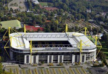 "Stade ""Borussia"" (Dortmund): histoire et les photos"