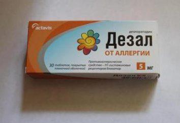 """""""Diza"""" (pillole anti-allergia): istruzioni per l'uso, analoghi, recensioni"""
