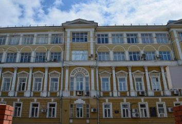 Budynek Uniwersytetu Niżnym Nowogrodzie. Budowa College w Niżnym Nowogrodzie