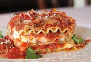 lasagna italiano: o que é?