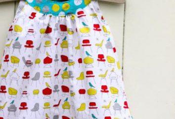 Wie ein Sommerkleid für Mädchen mit ihren Händen nähen?