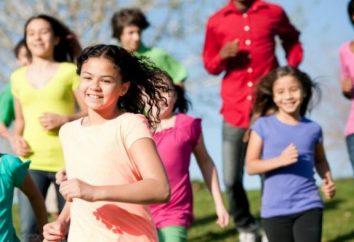 Une série d'exercices pour l'éducation physique (développement général)