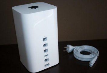 Router firmy Apple Airport Extreme: opinie, opisy, specyfikacje, konfiguracja i opinie